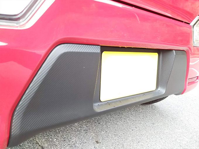 スズキ ワゴンR スティングレー 赤 バンパー画像