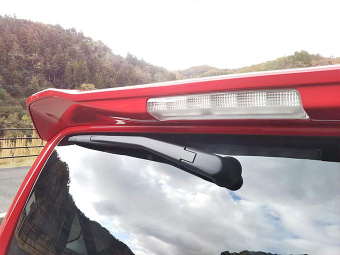 スズキ ワゴンR スティングレー 赤 ウイング画像