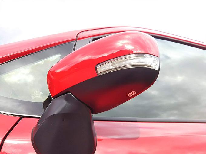 スズキ ワゴンR スティングレー 赤 サイドマニアック画像