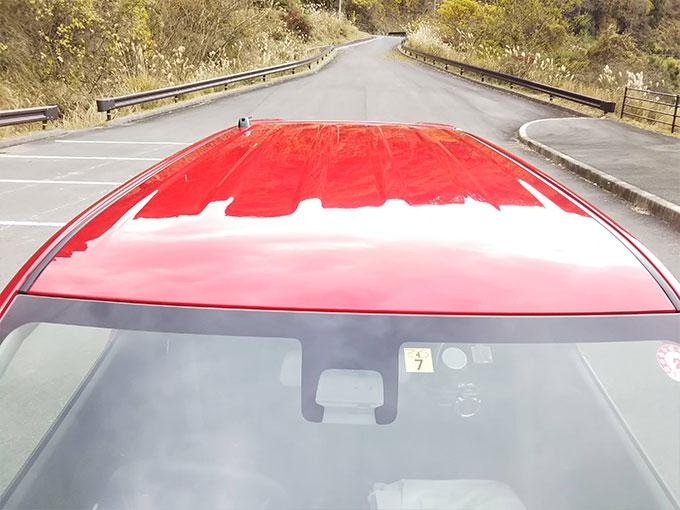 スズキ ワゴンR スティングレー 赤 屋根デザイン