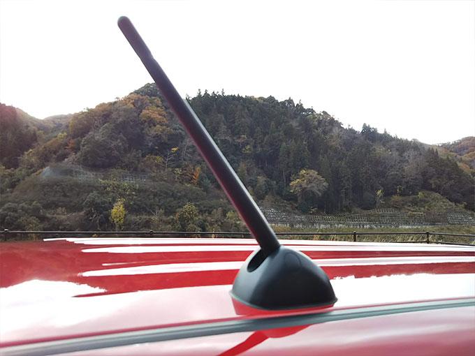 スズキ ワゴンR スティングレー 赤 アンテナデザイン
